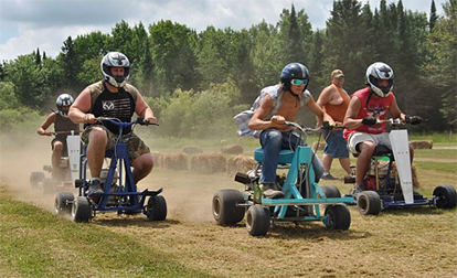 Lawn mowers will be racing again